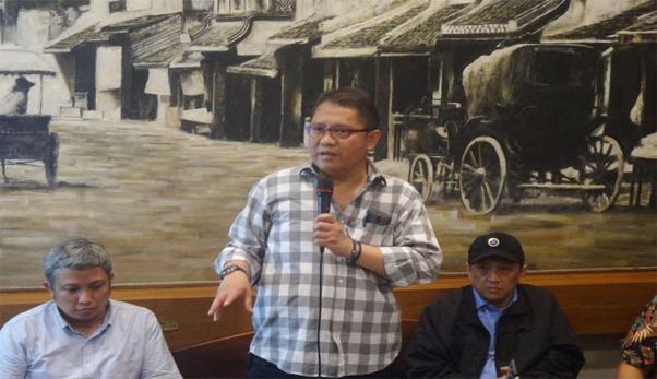 Menteri Komunikasi dan Informatika Rudiantara di Cikini, Jakarta Pusat, Jumat (30/6/2017).