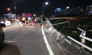 Kecelakaan di Tol Pluit, 2 orang tewas