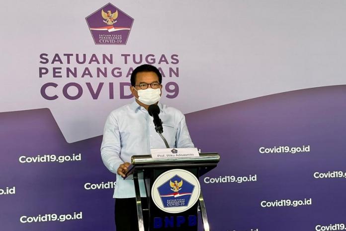 Juru Bicara Pemerintah Penanganan Covid-19 Wiku Adisasmito mengatakan, laju kasus nasional konsisten mengalami penurunan selama delapan minggu berturut-turut. Kasus di pekan inipun telah turun sebesar 88,9 persen dibandingkan pada puncak kedua.